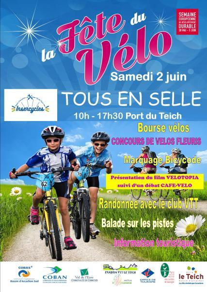 Affiche Fete du vélo
