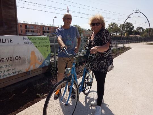 lauréate fête du vélo 1