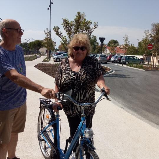 lauréate fête du vélo